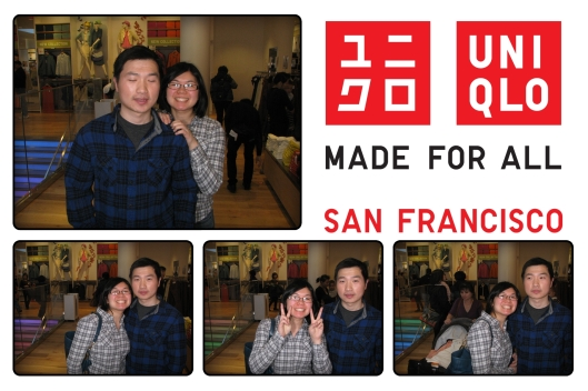 Uniqlo Photobooth